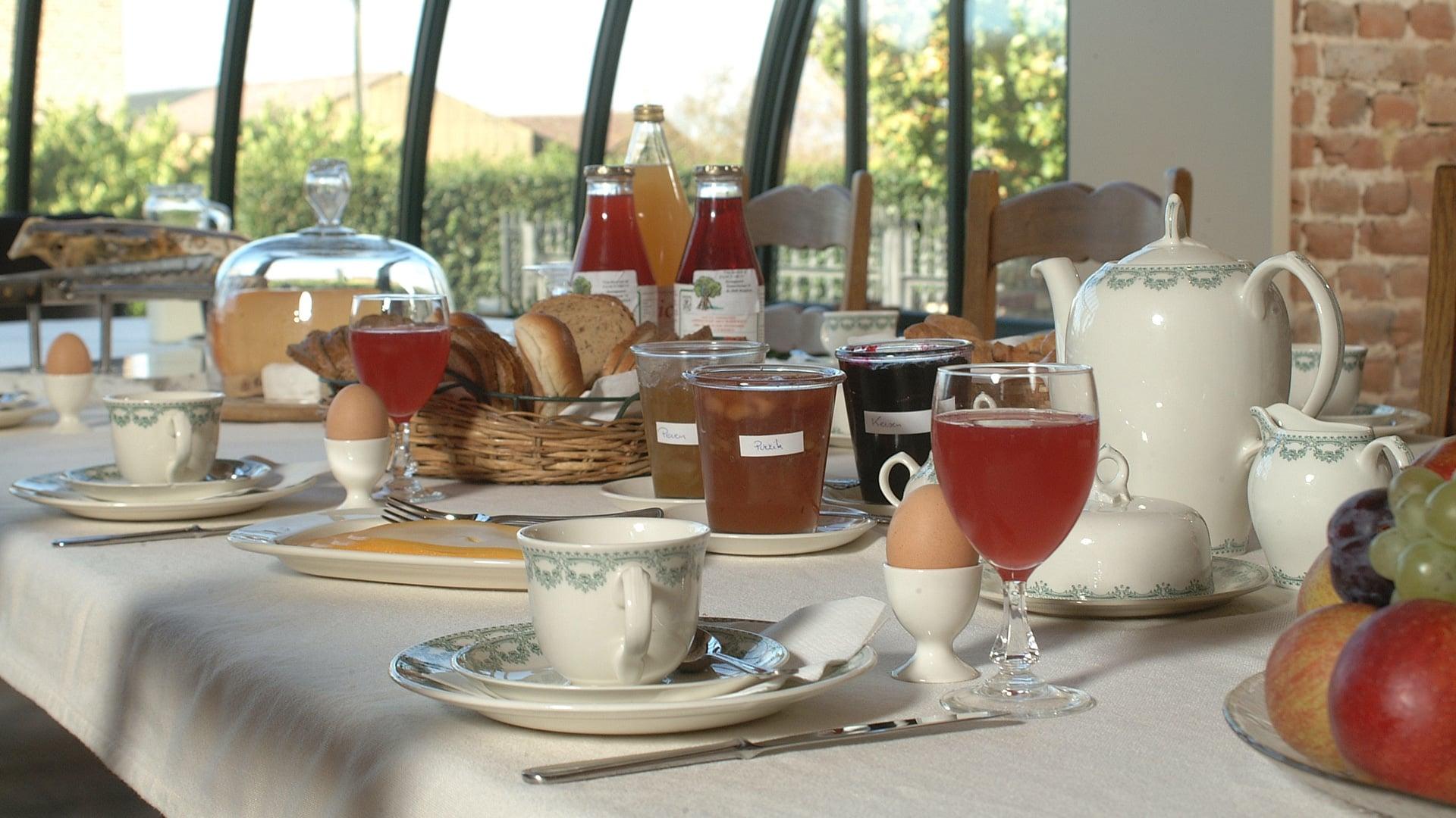 Ontbijt, picknick & half pension - Domein Marsnil